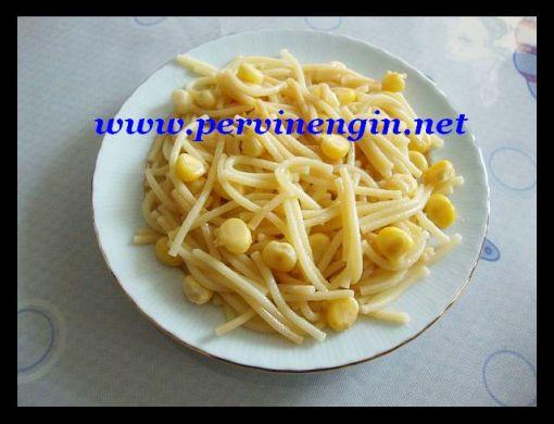 AİLEBOYU MISIRLI MAKARNA( peynirli,cevizli v.b.)