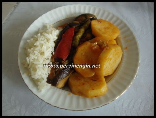 KARNIYARIK(patates garnitürlü)